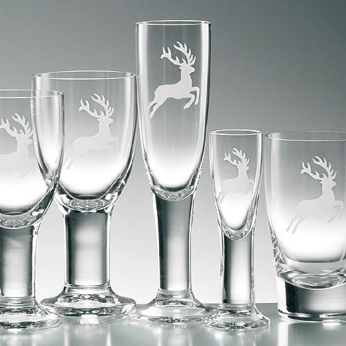 Gmundner Ceramics Glass Deer by Eisch