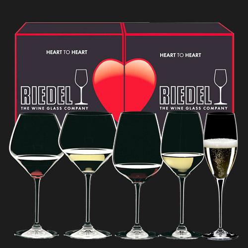 Riedel Glasses Heart to Heart