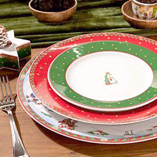 Рождественские тарелки