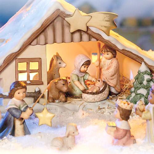 Cribs and Nativity Figurines