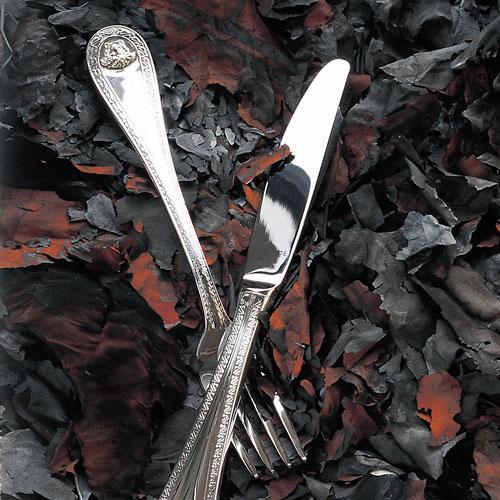 Rosenthal Versace Medusa cutlery 150 gram solid silver plated