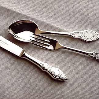 Robbe & Berking Ostfriesen 925 Sterling Silver Cutlery