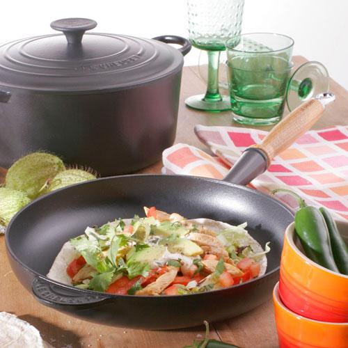 Le Creuset Cast Iron Black