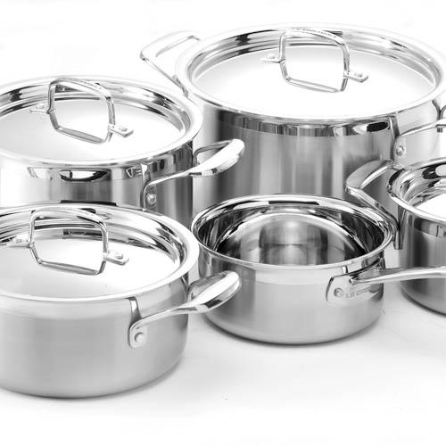 Le Creuset 3-PLY Stainless Steel Multilayer Cookware