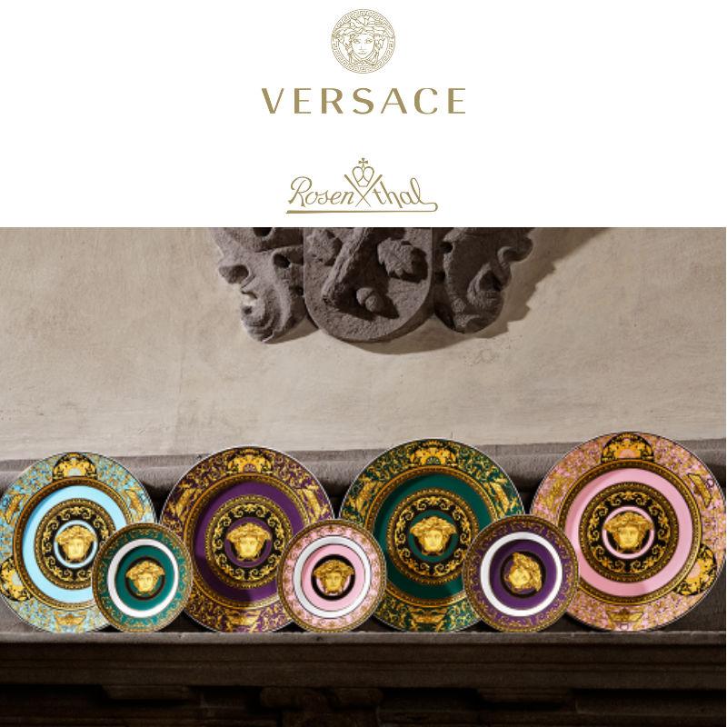 Rosenthal Versace Porcelain & Glass Sets