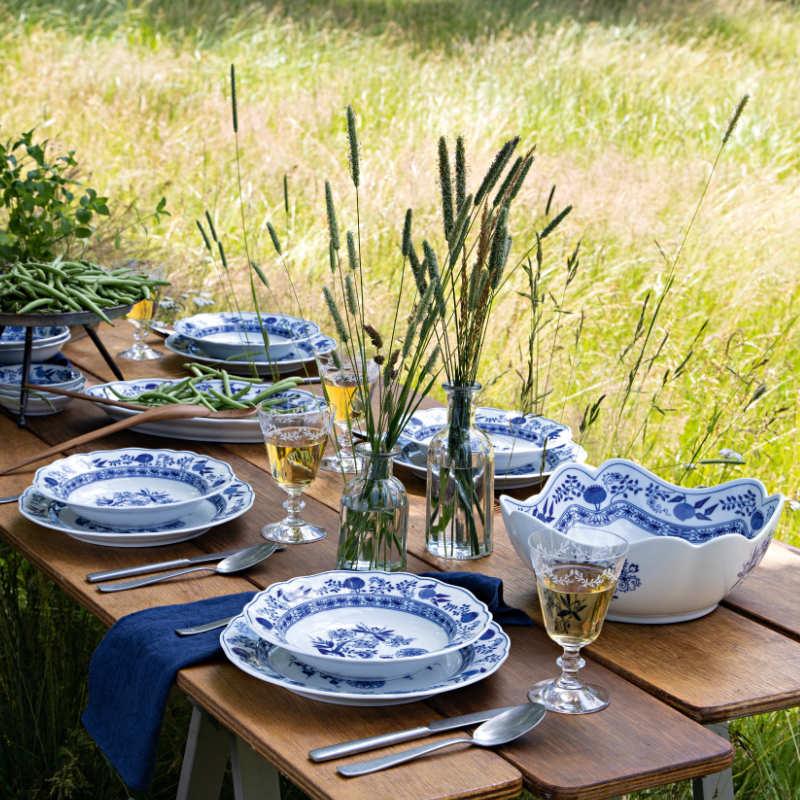 Hutschenreuther Blue Onion