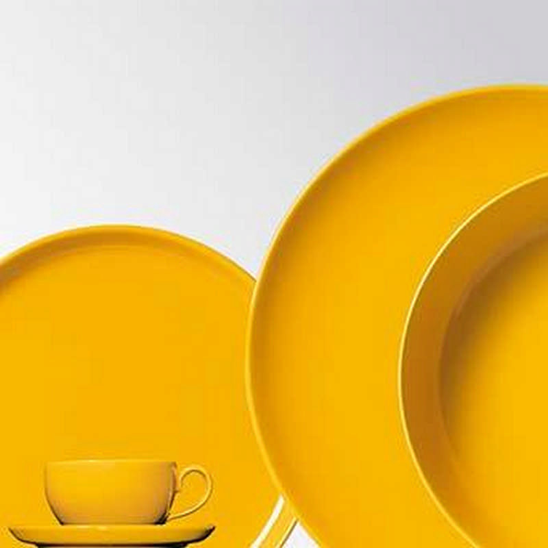 Friesland Happymix Saffron Yellow Ceramics