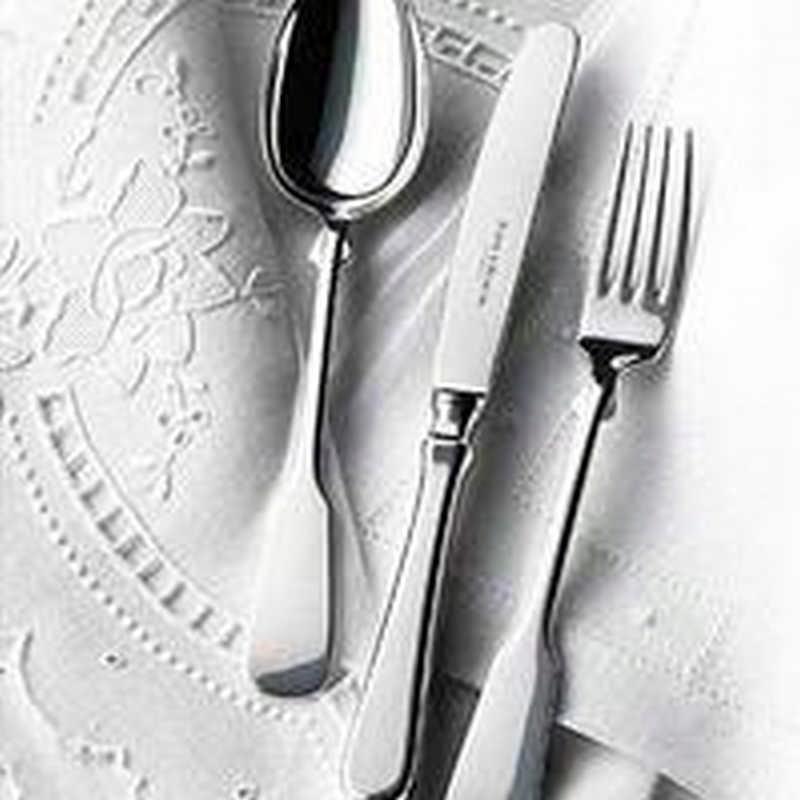 Столовые приборы Spaten из стерлингового серебра от Robbe & Berking