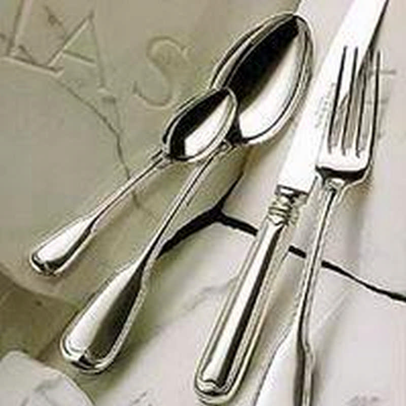 Robbe & Berking Old Fiddle 150 grams massive silver plated Cutlery