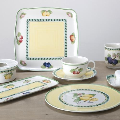 Villeroy & Boch French Garden Charm & Breakfast Porcelain