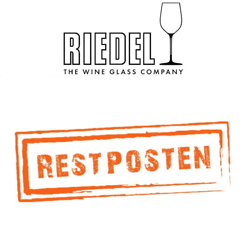 Riedel Glasses Remaining stock