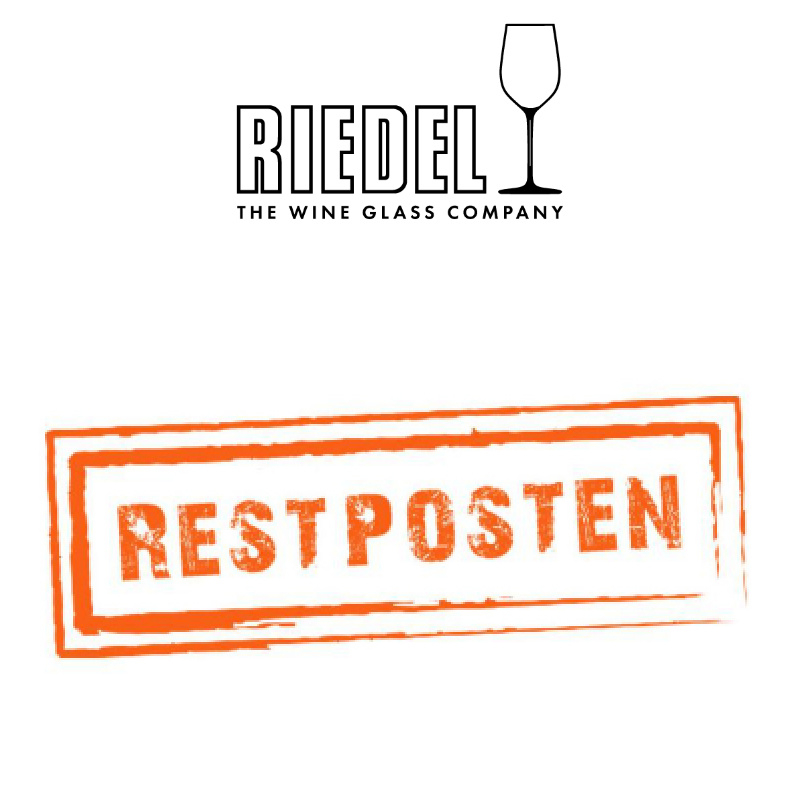 % Riedel discontinued | remaining stock