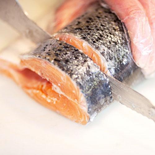 Salmon Knives