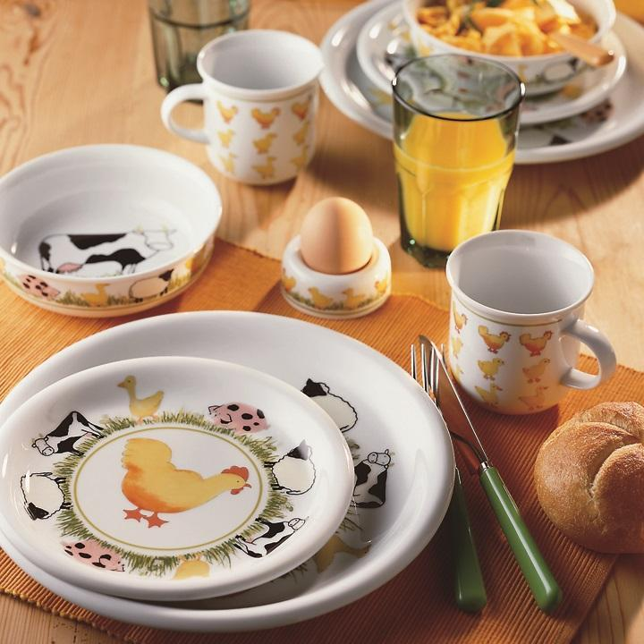 Arzberg Childrens Crockery Farm Animals