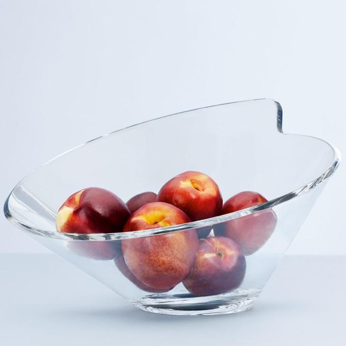 Decorative bowls made of glass