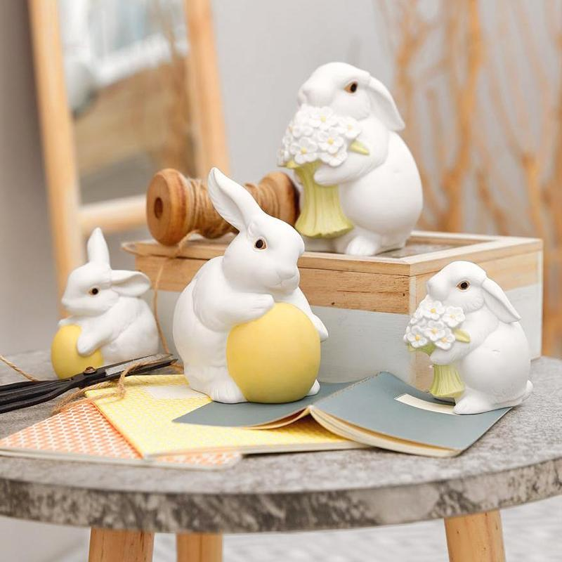 Фигурки зайцев от Hutschenreuther