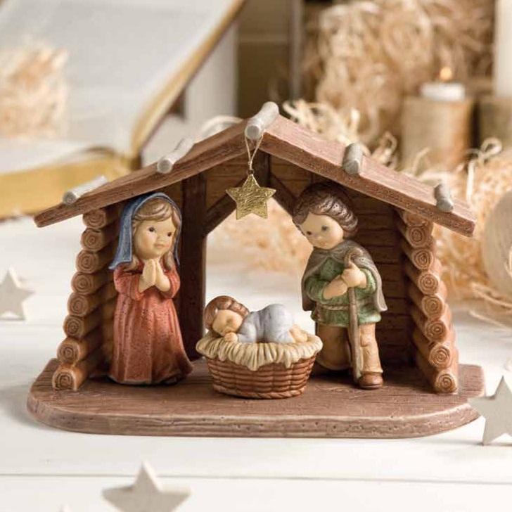 Nina & Marco - Рождество Христово Midi Krippe от Goebel
