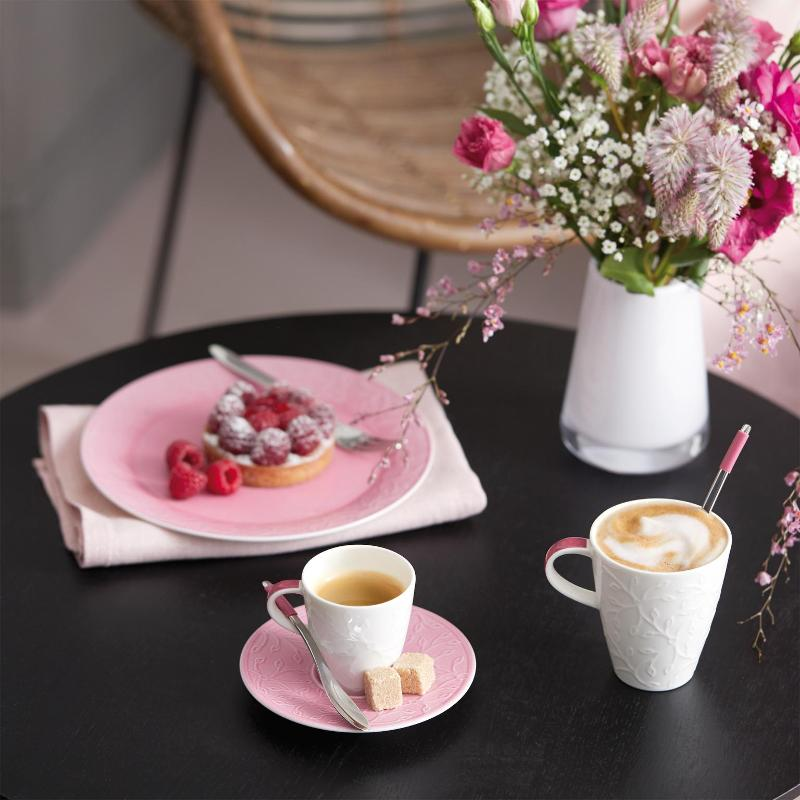 Villeroy & Boch Caffè Club Floral Touch of Rose