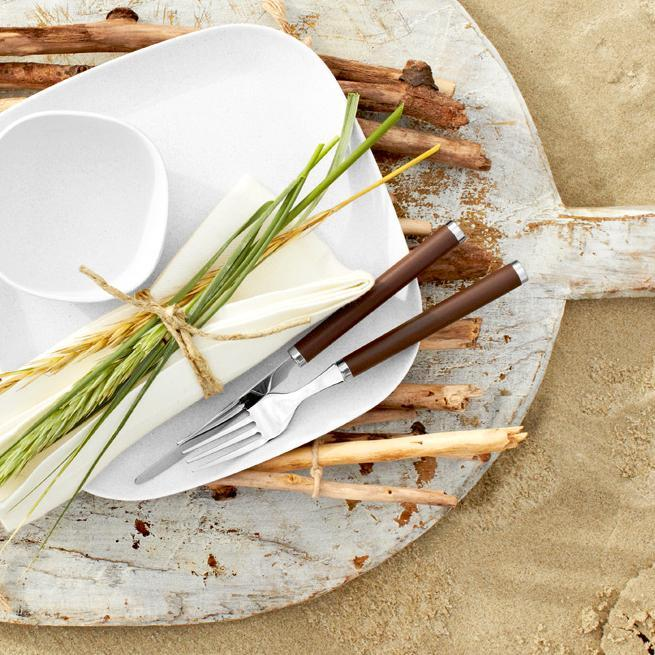 Colourful cutlery patterns for BBQ season