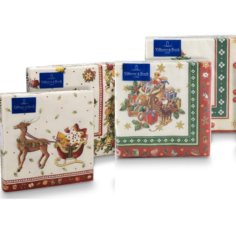 Бумажные салфетки для Рождества