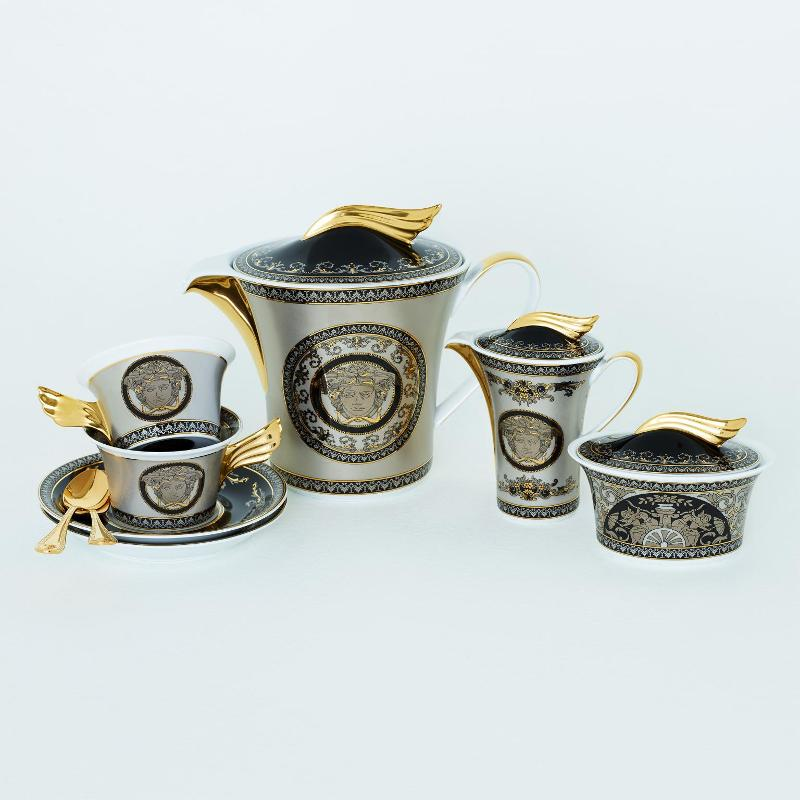 Rosenthal Versace Medusa Silver