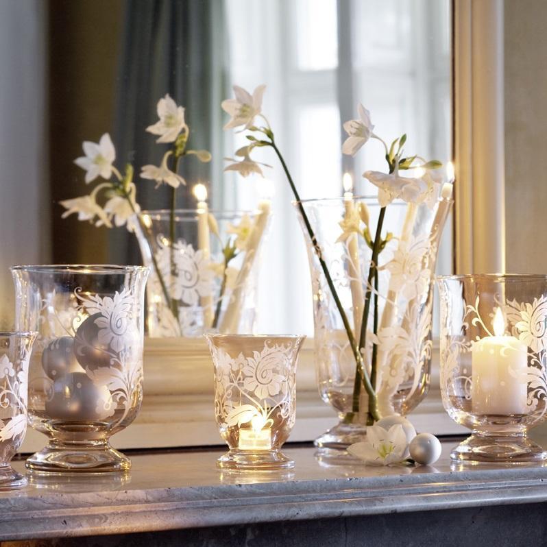 Villeroy & Boch Helium mit Blumenornament Gläser
