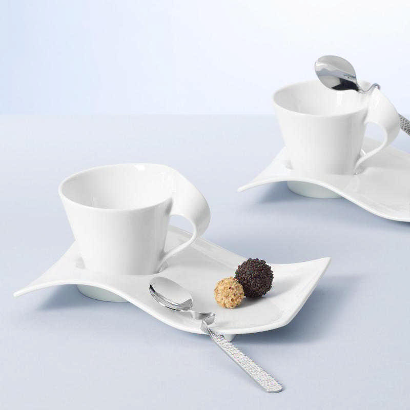 Villeroy & Boch New Wave Caffe plain white