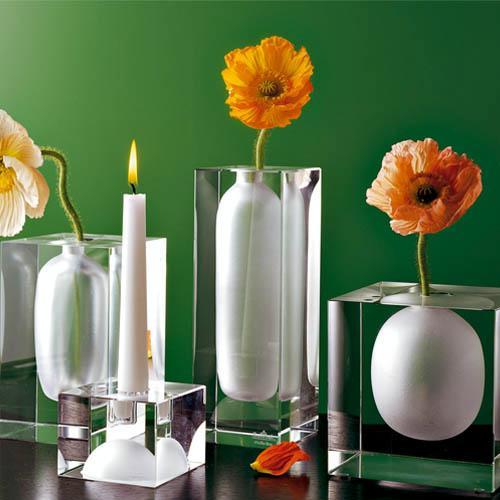 Rosenthal Studio line Glasses Block Crystal clear