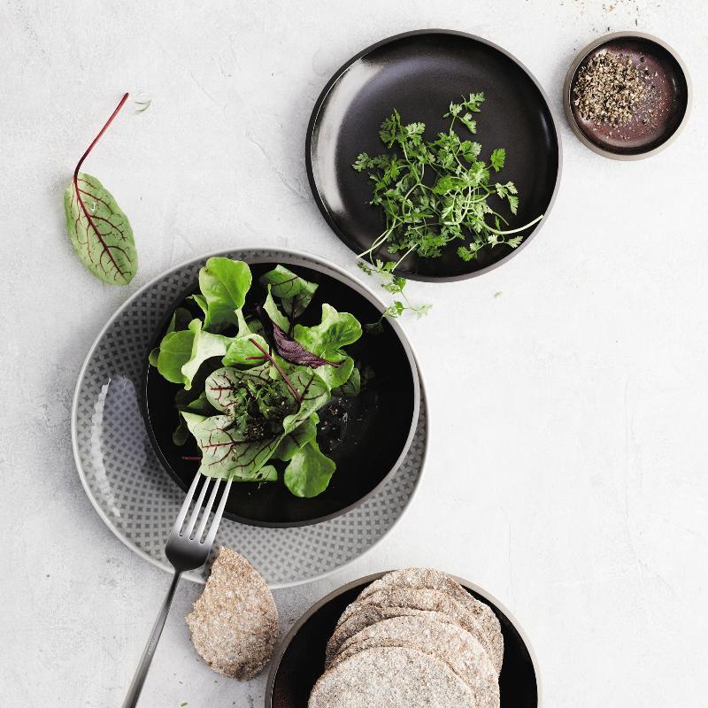 Rosenthal Junto Slate Grey | Stoneware