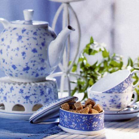 Arzberg Form 1382 Blue Blossoms