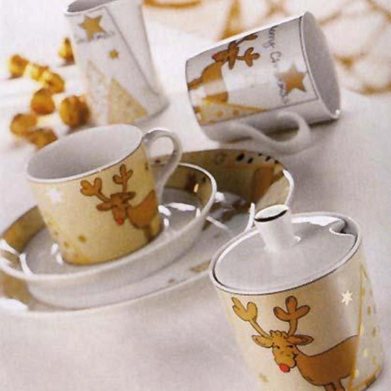 Arzberg Santas Reindeer Porcelain