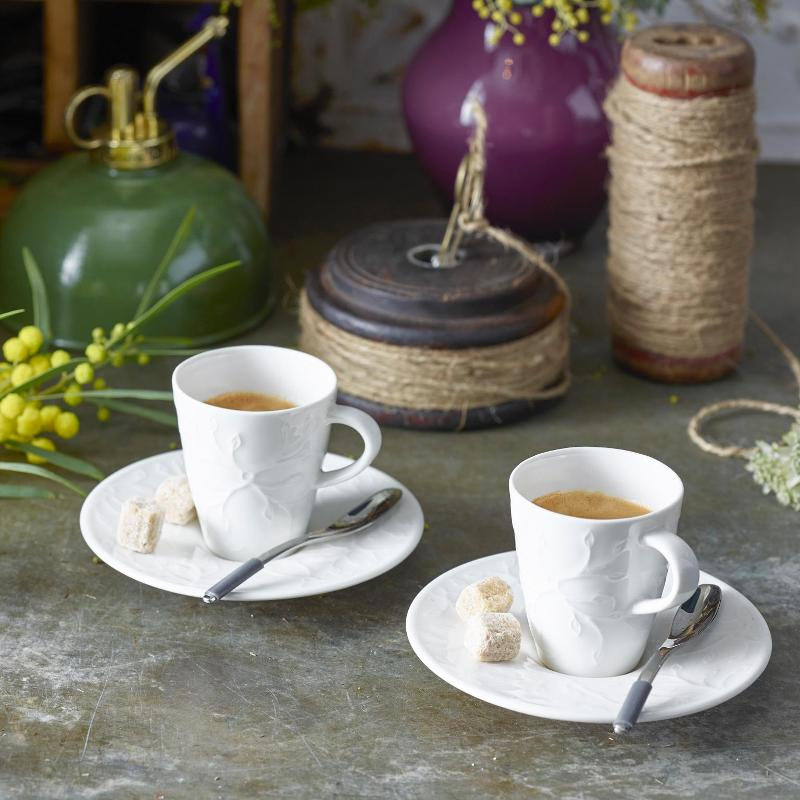 Villeroy & Boch Caffè Club Floral Touch of Smoke