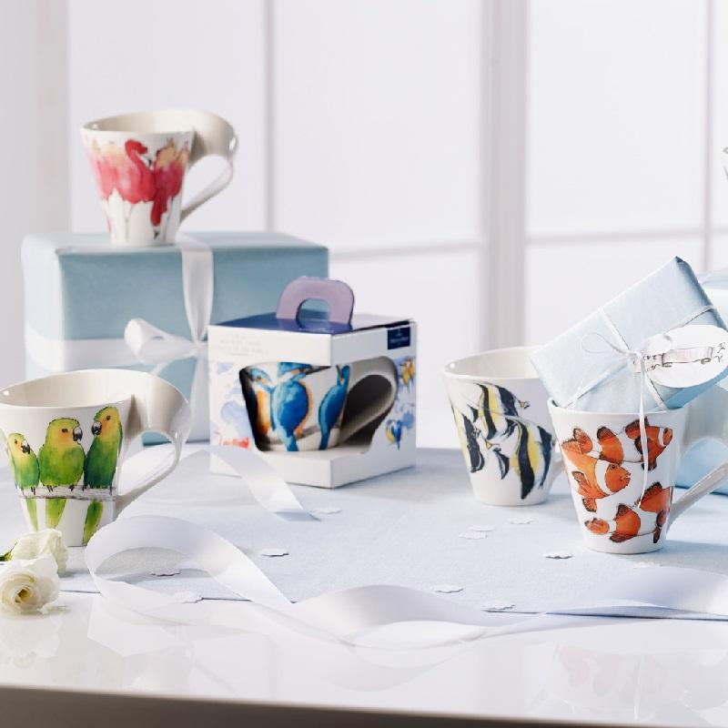New Wave Caffè 'Animals of the World' от Villeroy & Boch