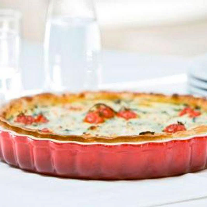 Le Creuset Pottery Fluted Flan Dish