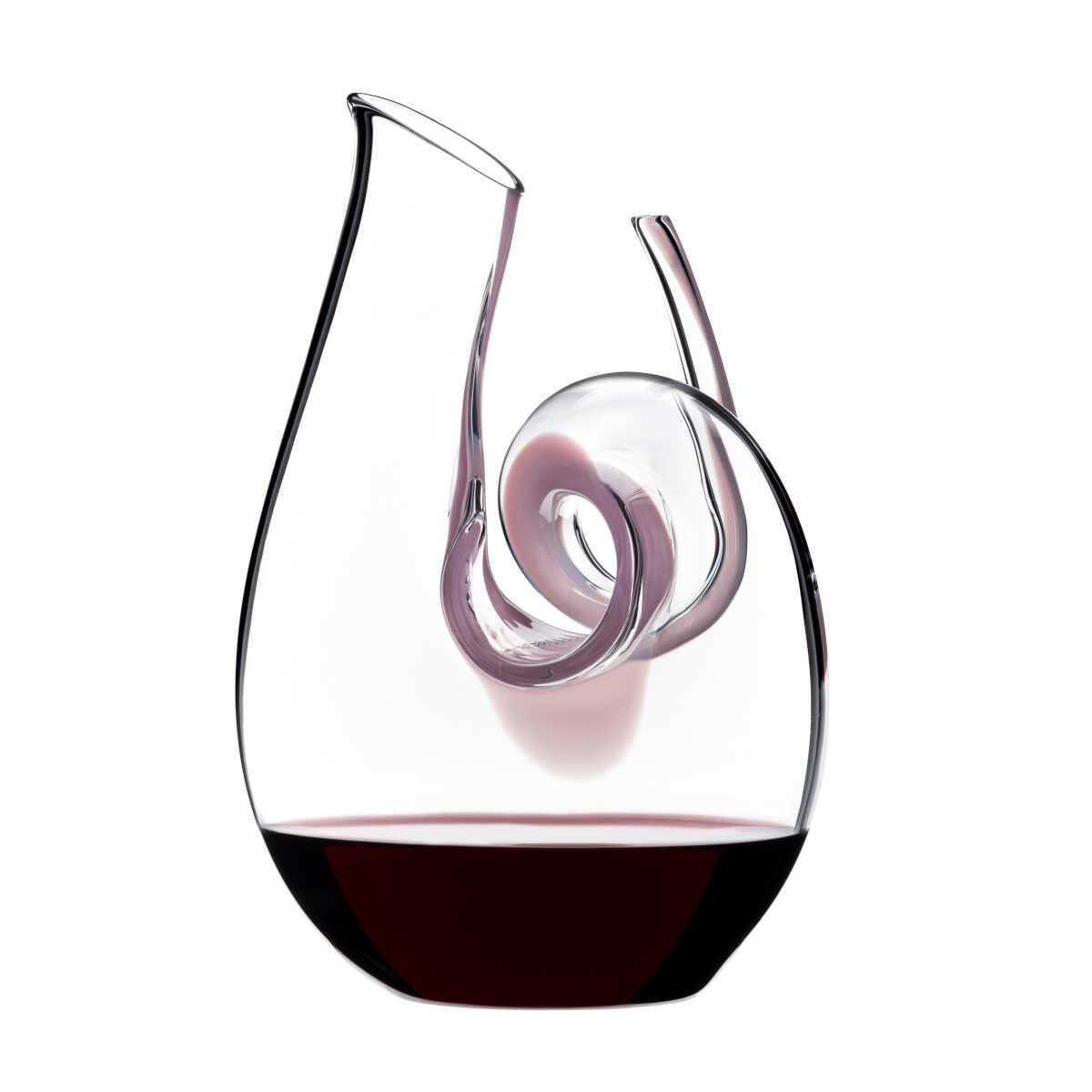 Riedel Glas Dekanter Curly Pink Mini 690 ccm | Küche und Esszimmer > Besteck und Geschirr > Karaffen | Riedel