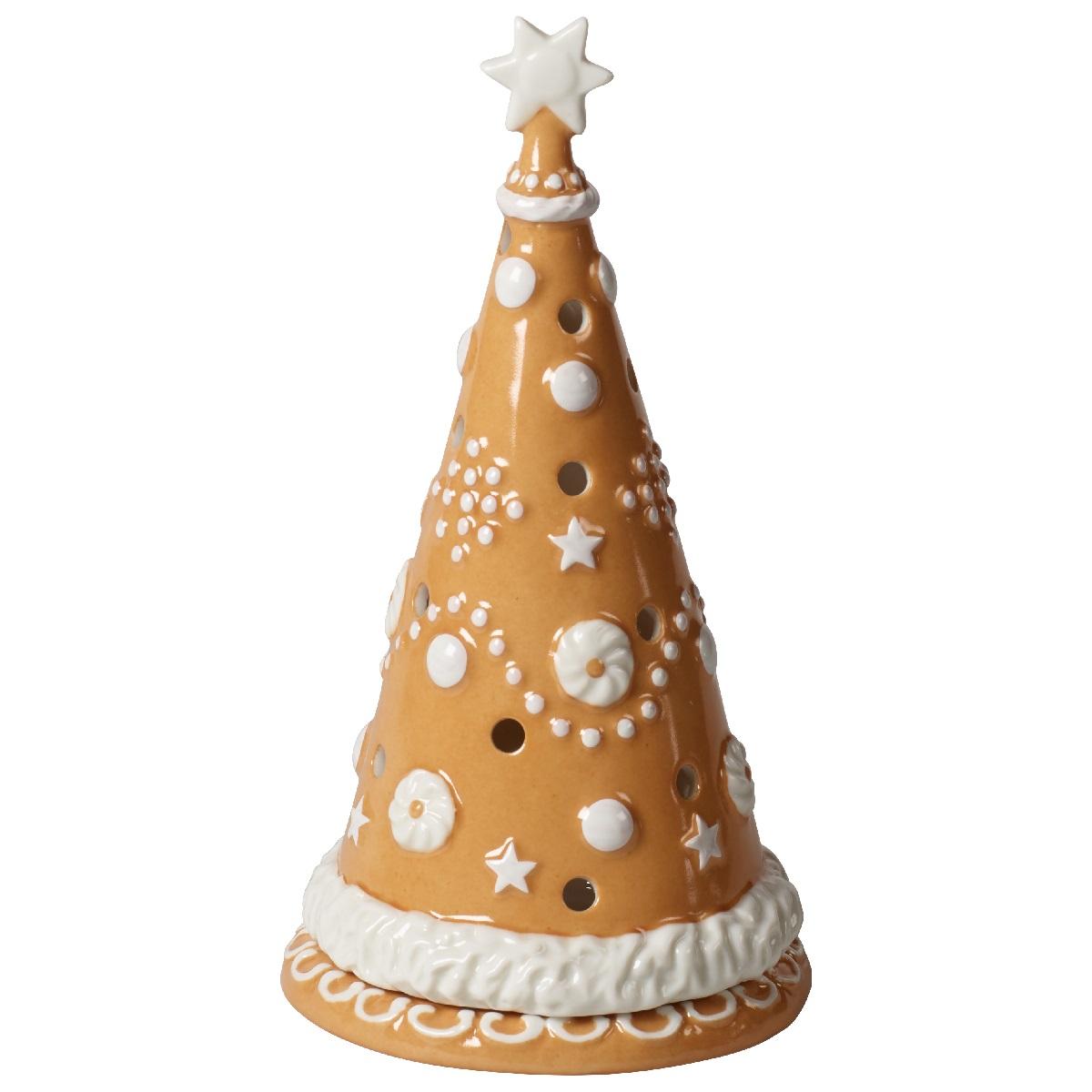 Villeroy & Boch Winter Bakery Decoration Lebkuchenbaum groß - mit Teelicht 11x11x21 cm   Dekoration > Kerzen und Kerzenständer > Teelichter   Villeroy & Boch