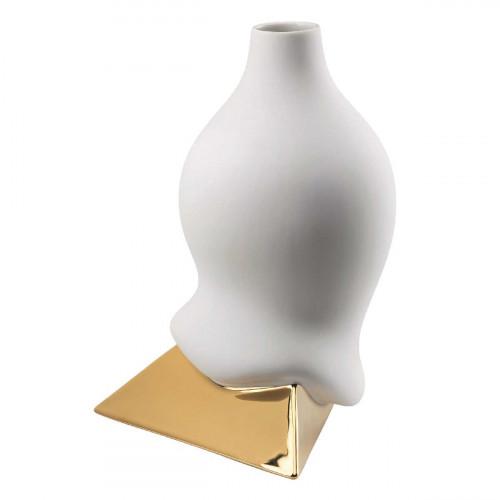 Rosenthal studio-line Sirop Vase Sirop Gold titanisiert h: 28 cm