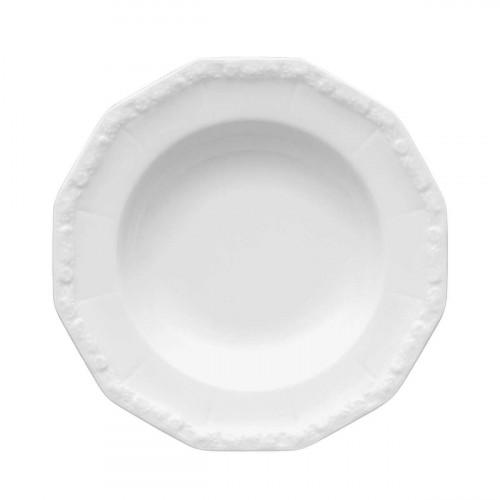 Rosenthal Maria weiß Suppenteller 21 cm