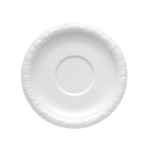 Rosenthal Tradition Maria weiß Suppen Untertasse / Aroma Untere 18 cm