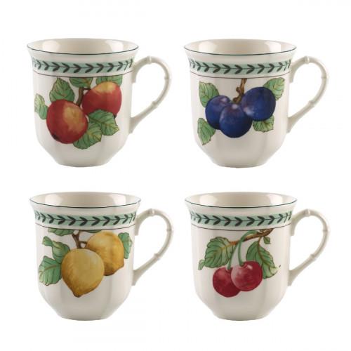 Villeroy & Boch French Garden Modern Fruits Jumbo-Becher Set 4-tlg.