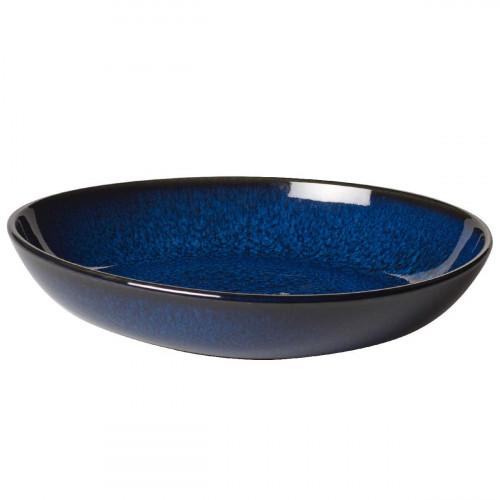 like. by Villeroy & Boch Lave bleu Schale flach klein 22x21x4,2 cm