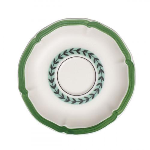 Villeroy & Boch French Garden Green Line Frühstücksuntertasse / Suppenuntertasse 17 cm