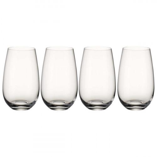 Villeroy & Boch Gläser Entree Becher Nr. 3 Glas Set 4-tlg. 143 mm / 0,62 L