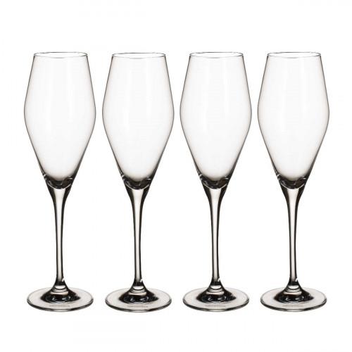 Villeroy & Boch La Divina Champagnerkelch Glas Set 4-tlg. 260 ml / H: 25,2 cm