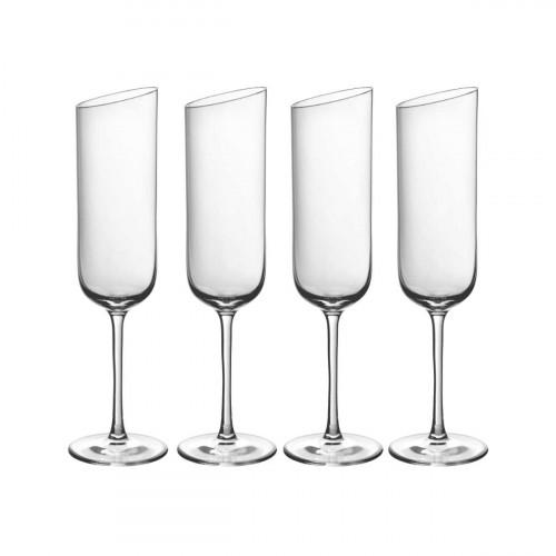 Villeroy & Boch NewMoon Sektkelch Glas Set 4-tlg. 180 ml