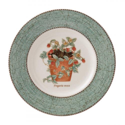 Wedgwood 'Sarah´s Garden' Frühstücksteller grün 20 cm