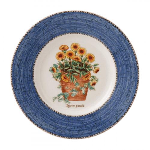 Wedgwood 'Sarah´s Garden' Frühstücksteller blau 20 cm
