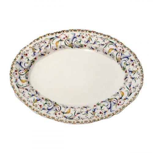 Gien 'Toscana' Platte oval 34,5 x 25,3 cm