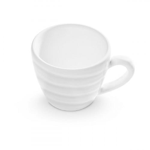 Gmundner Keramik Weißgeflammt Espressoobertasse Gourmet 0,06 L / h: 5,1 cm