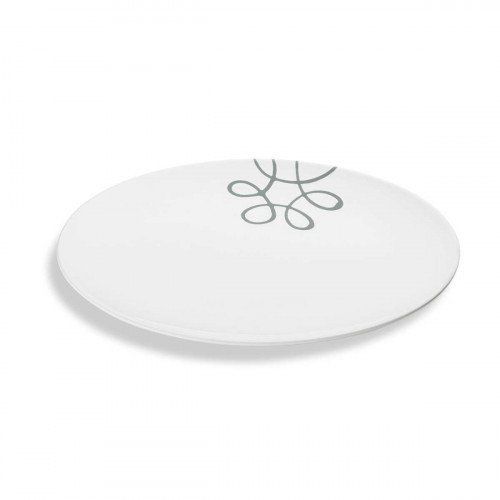 Gmundner Keramik Pur Geflammt Grau Platte oval 33x26 cm